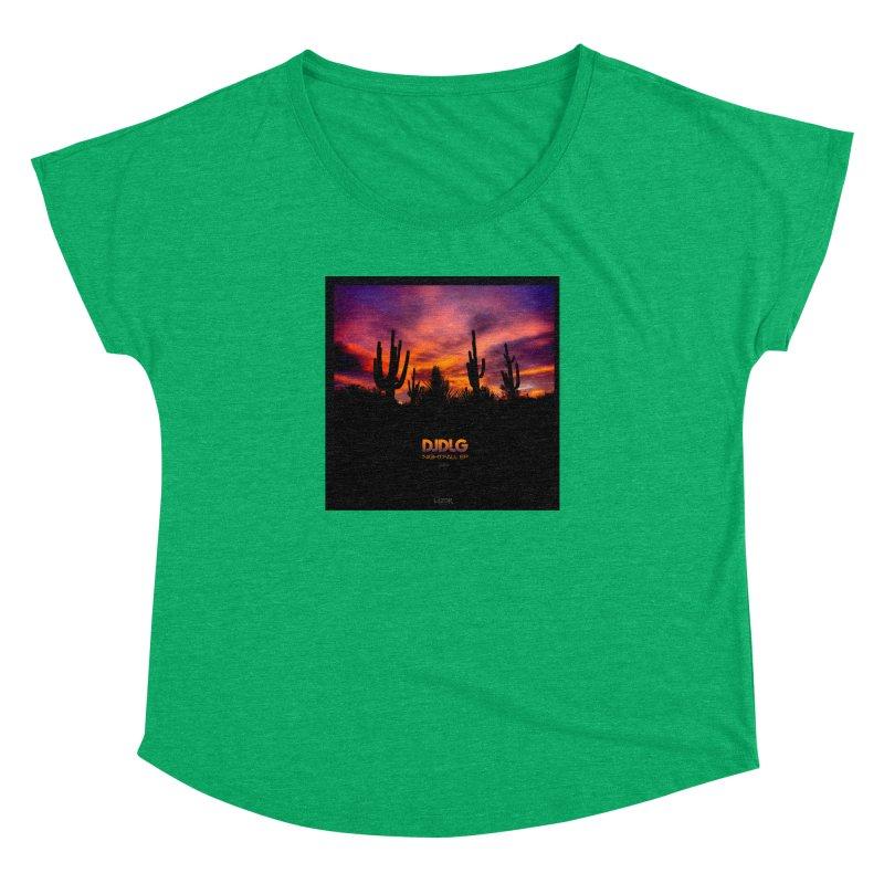Nightfall EP (Cover Art) Women's Dolman by Lazor Music Merchandise