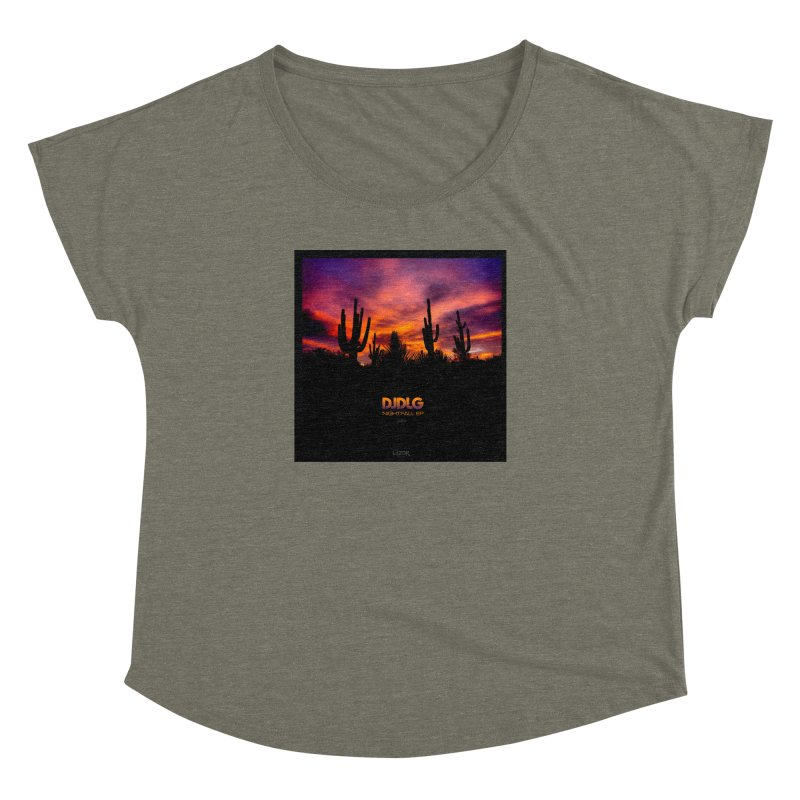 Nightfall EP (Cover Art) Women's Dolman by Lazor Music Merchandise