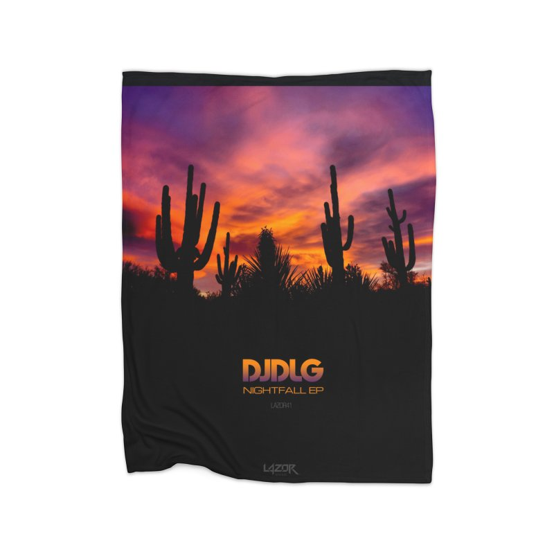 Nightfall EP (Cover Art) Home Blanket by Lazor Music Merchandise