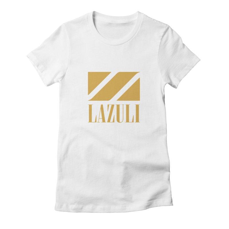 LAZULI Wave Women's Fitted T-Shirt by lazuli's Artist Shop