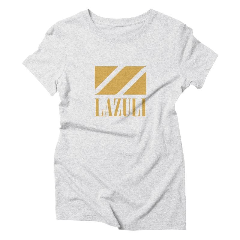 LAZULI Wave Women's Triblend T-shirt by lazuli's Artist Shop