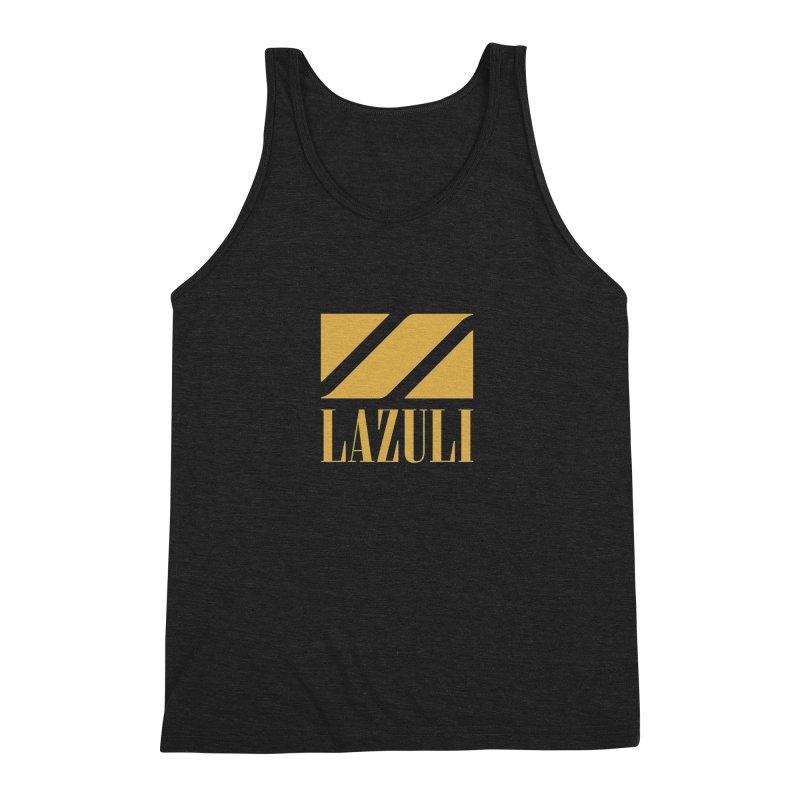 LAZULI Wave Men's Triblend Tank by lazuli's Artist Shop