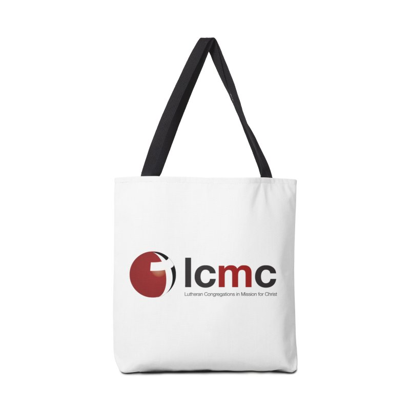 LCMC Logo (Light Color Collection) Accessories Tote Bag Bag by LCMC Store