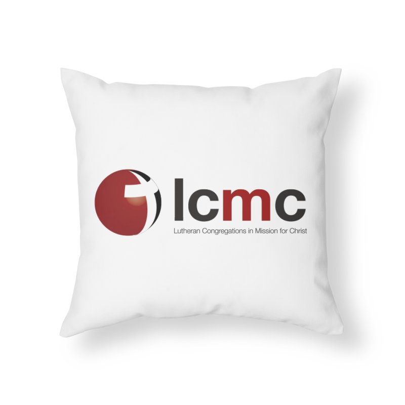 LCMC Logo (Light Color Collection) Home Throw Pillow by LCMC Store