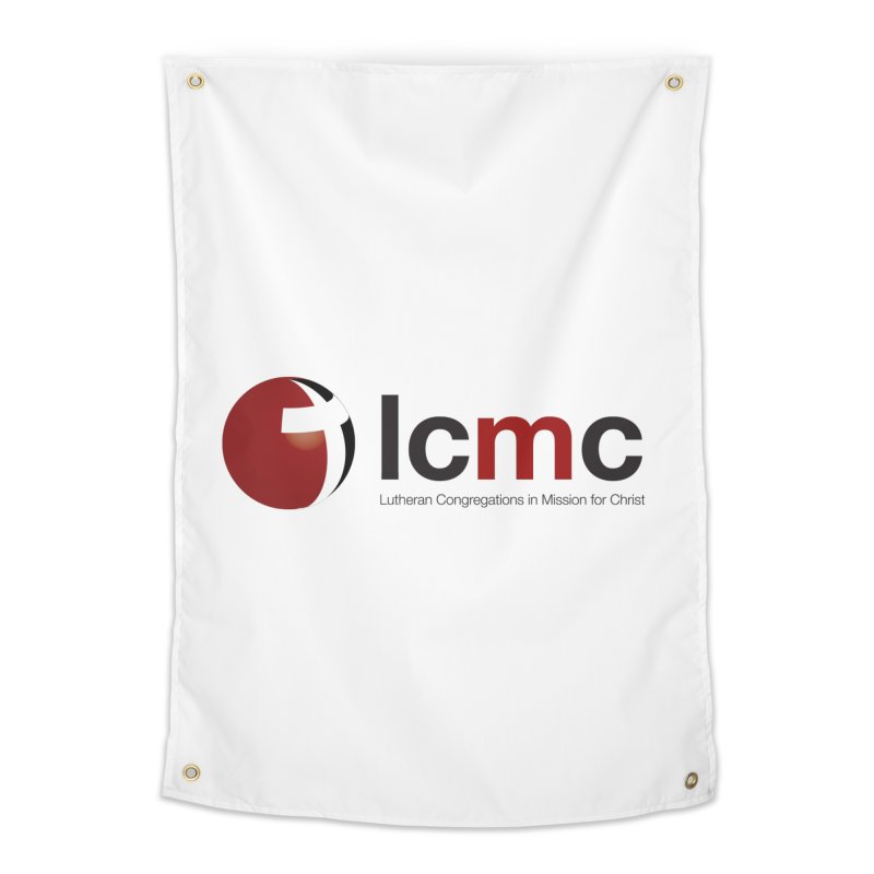 LCMC Logo (Light Color Collection) Home Tapestry by LCMC Store