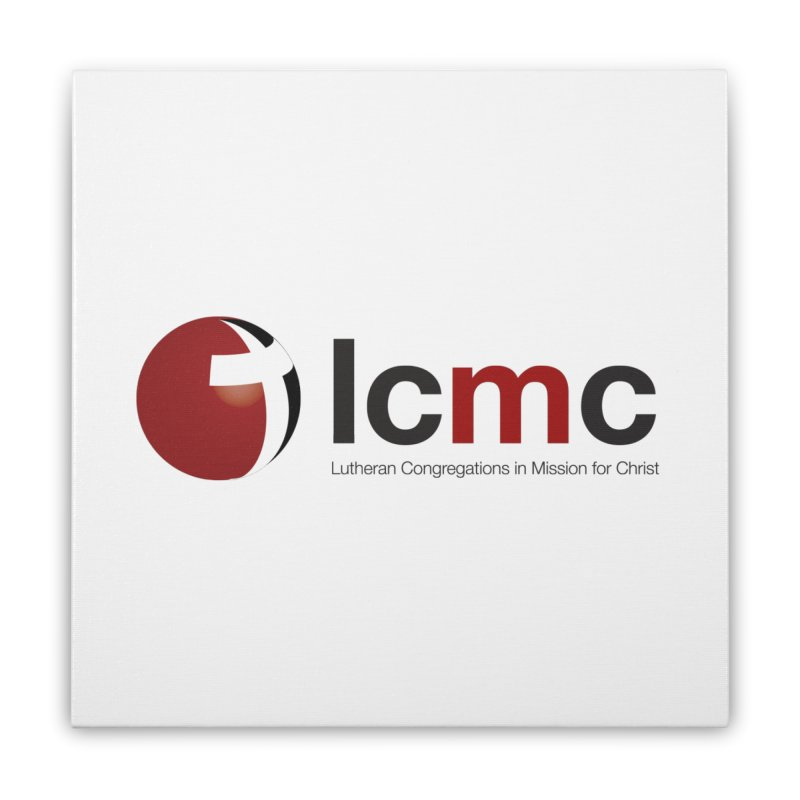 LCMC Logo (Light Color Collection) Home Stretched Canvas by LCMC Store