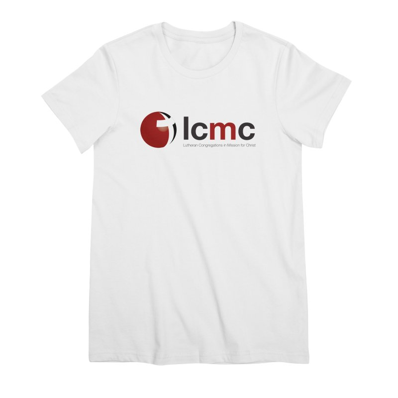 LCMC Logo (Light Color Collection) Women's Premium T-Shirt by LCMC Store