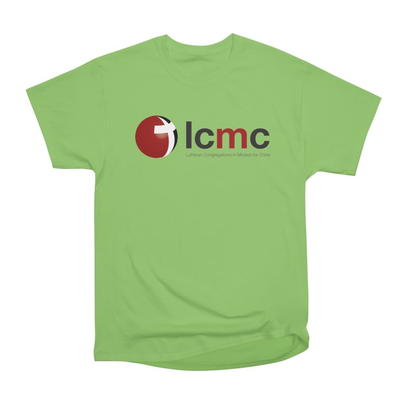 LCMC Logo (Light Color Collection) Men's Heavyweight T-Shirt by LCMC Store