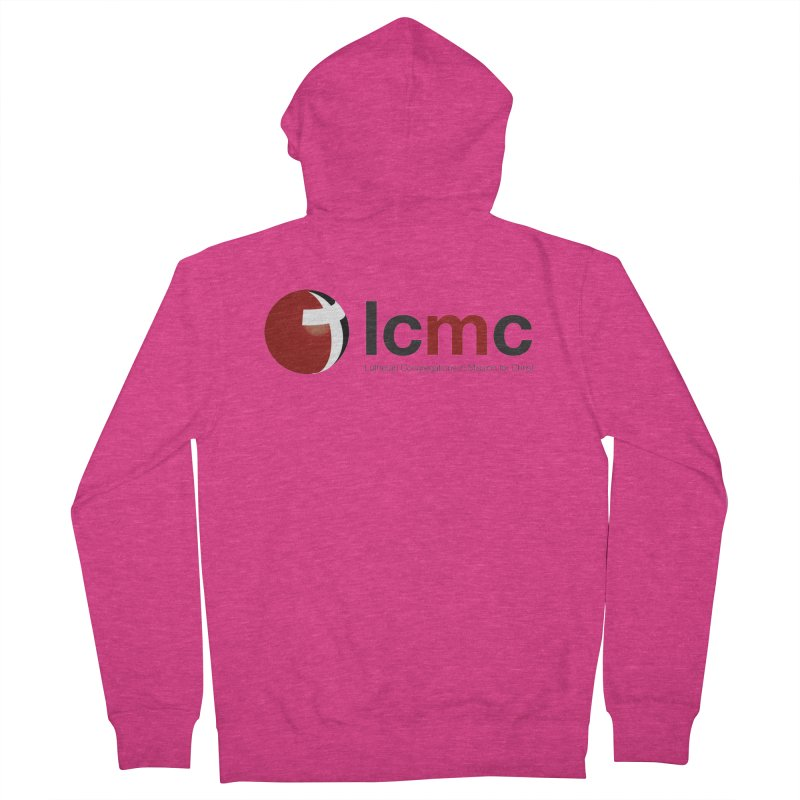 LCMC Logo (Light Color Collection) Women's French Terry Zip-Up Hoody by LCMC Store