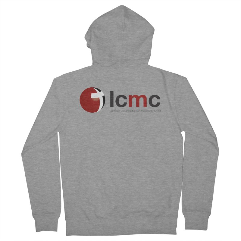 LCMC Logo (Light Color Collection) Men's Zip-Up Hoody by LCMC Store