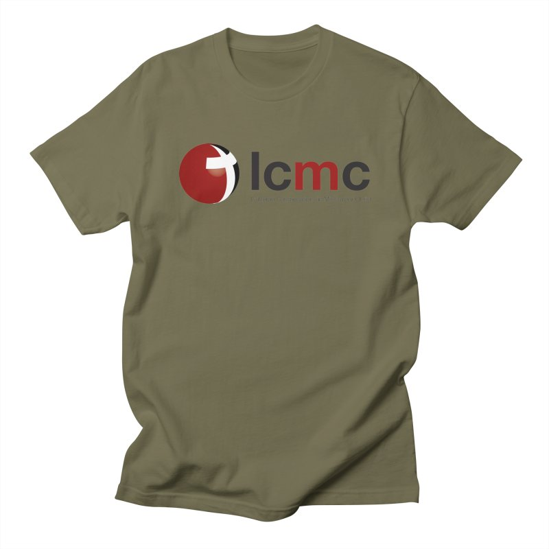 LCMC Logo (Light Color Collection) Men's Regular T-Shirt by LCMC Store