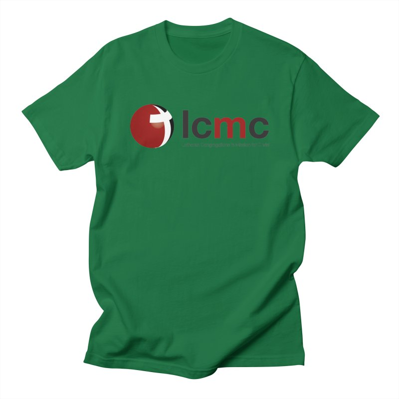 LCMC Logo (Light Color Collection) Men's T-shirt by LCMC Store