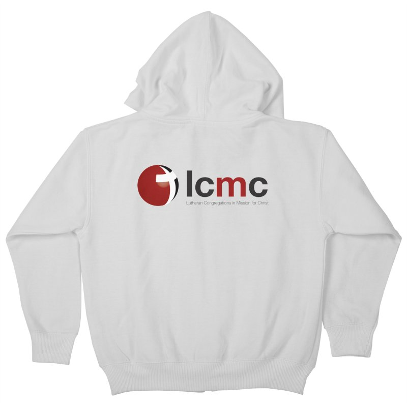 LCMC Logo (Light Color Collection) Kids Zip-Up Hoody by LCMC Store