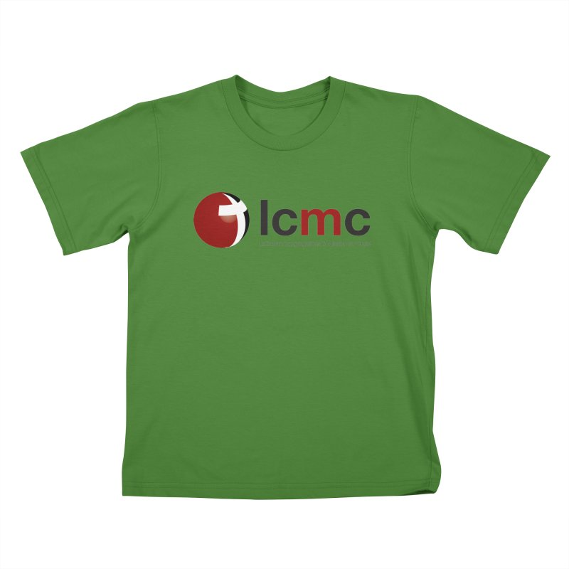 LCMC Logo (Light Color Collection) Kids T-shirt by LCMC Store