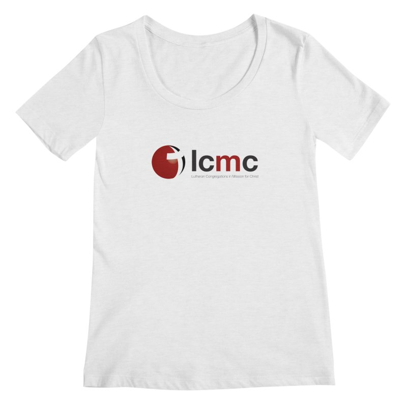 LCMC Logo (Light Color Collection) Women's Scoopneck by LCMC Store