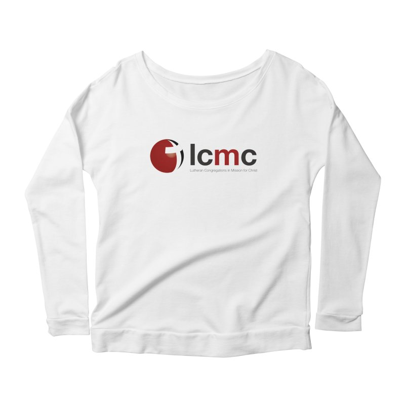 LCMC Logo (Light Color Collection) Women's Longsleeve Scoopneck  by LCMC Store