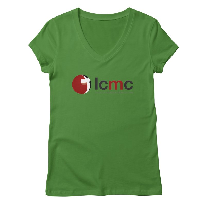 LCMC Logo (Light Color Collection) Women's V-Neck by LCMC Store