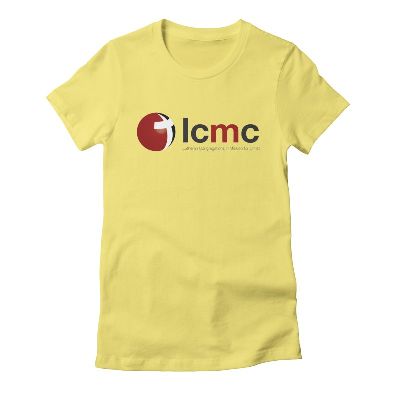 LCMC Logo (Light Color Collection) Women's Fitted T-Shirt by LCMC Store