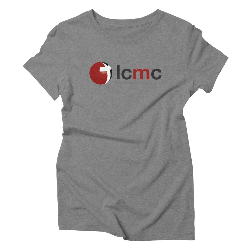 LCMC Logo (Light Color Collection) Women's Triblend T-Shirt by LCMC Store