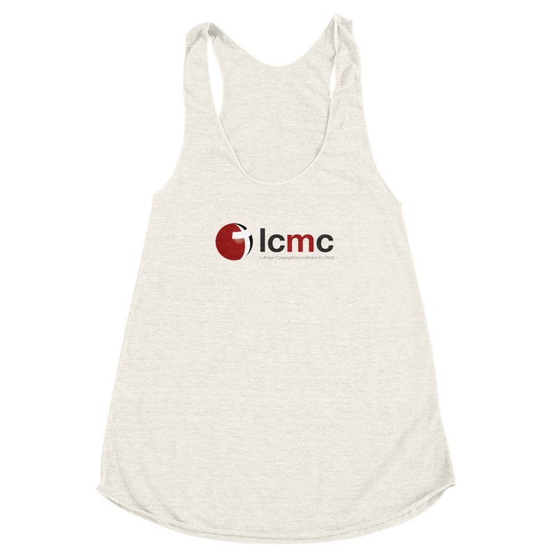 LCMC Logo (Light Color Collection) Women's Racerback Triblend Tank by LCMC Store