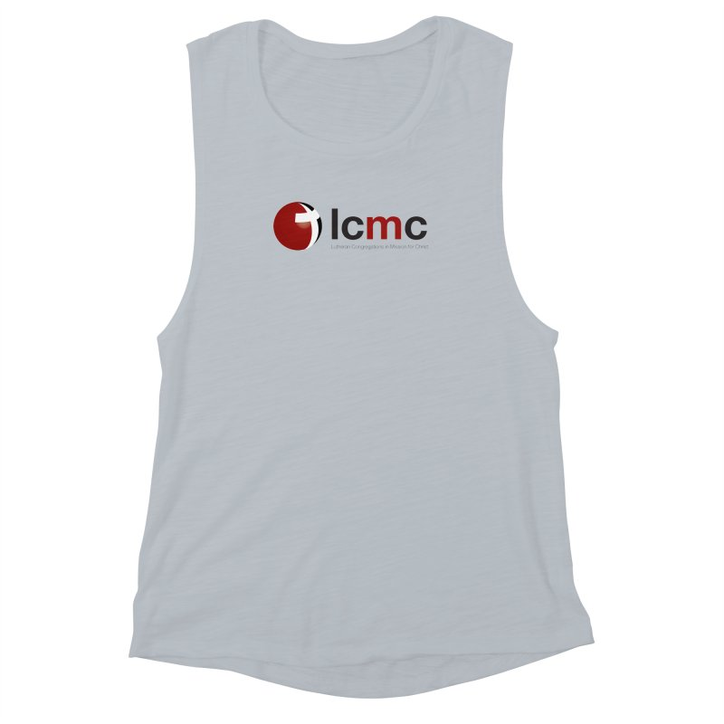 LCMC Logo (Light Color Collection) Women's Muscle Tank by LCMC Store