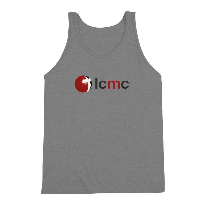 LCMC Logo (Light Color Collection) Men's Triblend Tank by LCMC Store