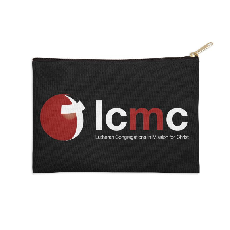 LCMC Logo (Dark Color Collection) Accessories Zip Pouch by LCMC Store
