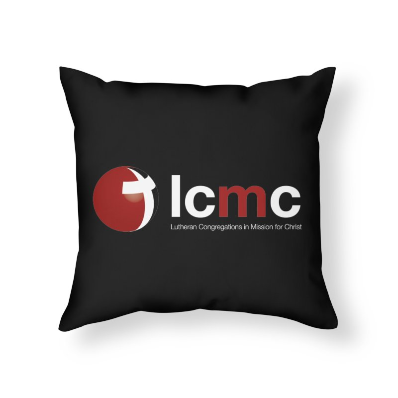LCMC Logo (Dark Color Collection) Home Throw Pillow by LCMC Store