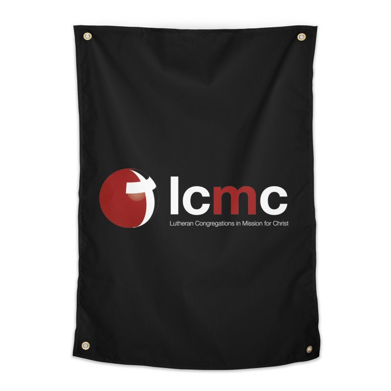 LCMC Logo (Dark Color Collection) Home Tapestry by LCMC Store