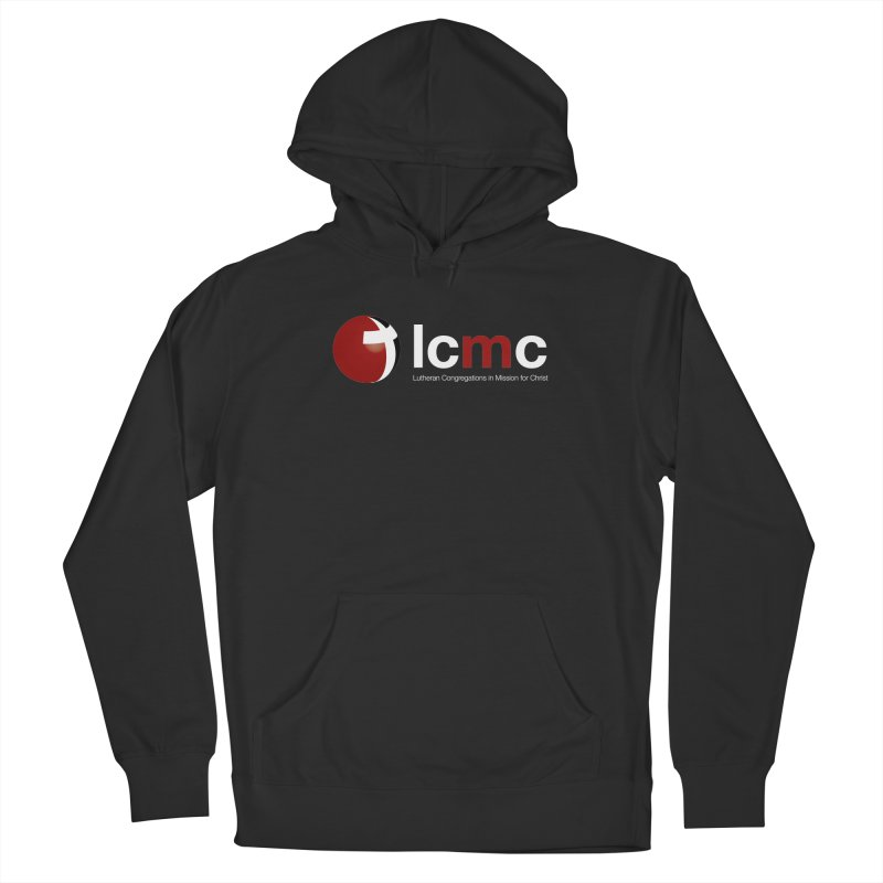 LCMC Logo (Dark Color Collection) in Women's French Terry Pullover Hoody Smoke by LCMC Store