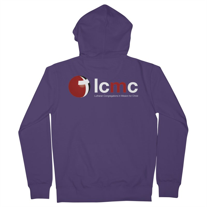 LCMC Logo (Dark Color Collection) Women's French Terry Zip-Up Hoody by LCMC Store