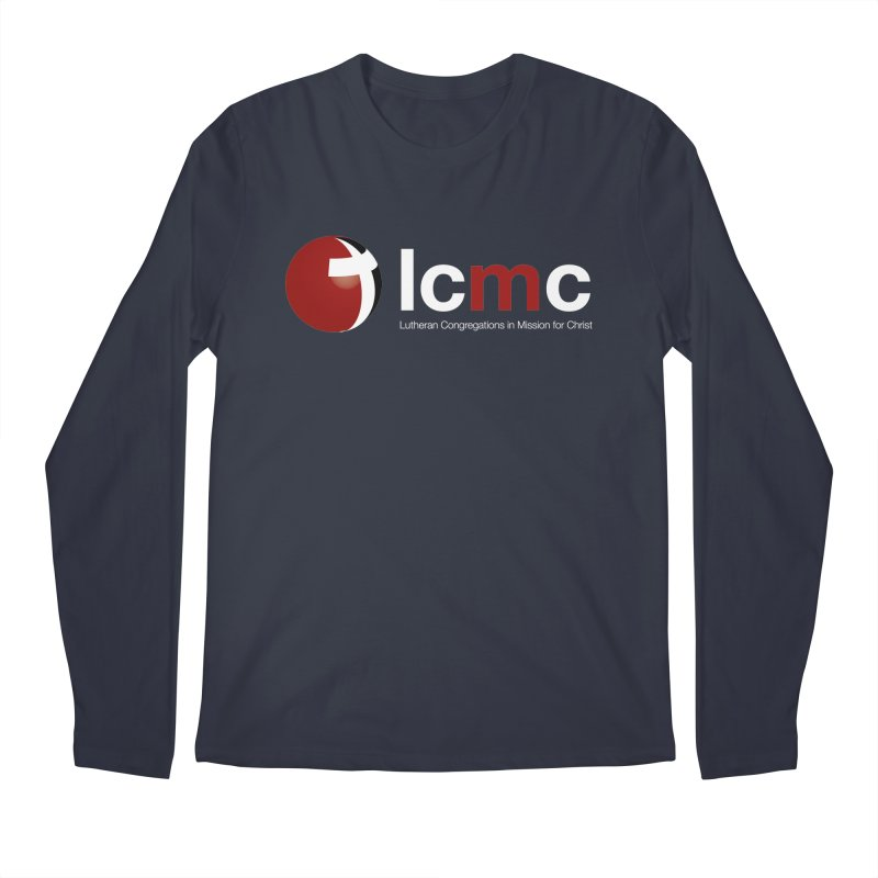 LCMC Logo (Dark Color Collection) Men's Regular Longsleeve T-Shirt by LCMC Store