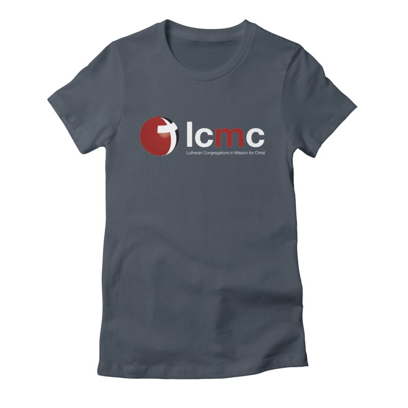 LCMC Logo (Dark Color Collection) Women's Fitted T-Shirt by LCMC Store