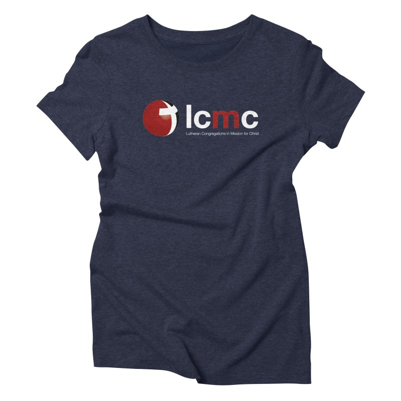 LCMC Logo (Dark Color Collection) Women's Triblend T-Shirt by LCMC Store
