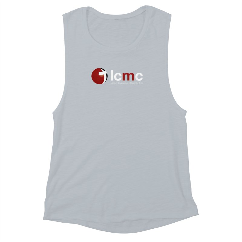LCMC Logo (Dark Color Collection) Women's Muscle Tank by LCMC Store