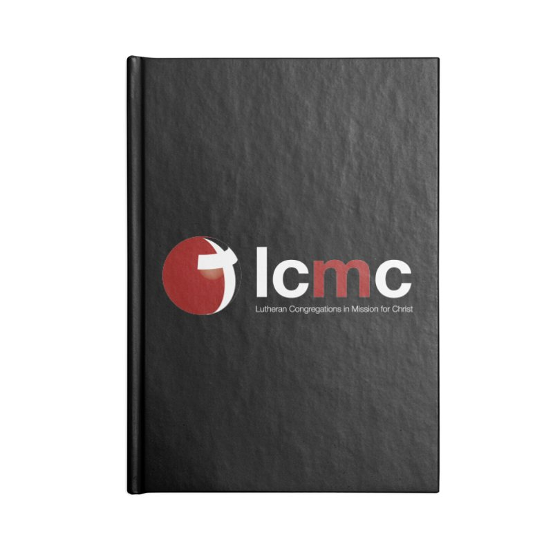 LCMC Logo (Dark Color Collection) Accessories Blank Journal Notebook by LCMC Store