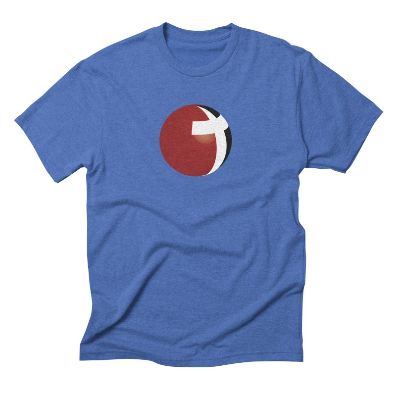 Graphic Only Collection Men's Triblend T-shirt by LCMC Store