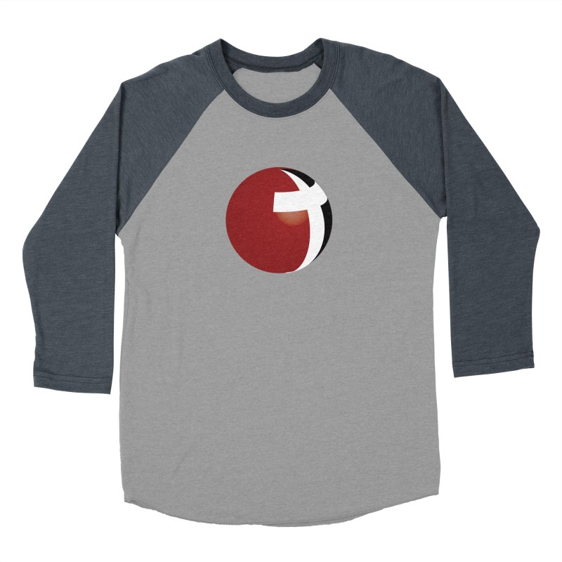 Graphic Only Collection Men's Baseball Triblend T-Shirt by LCMC Store