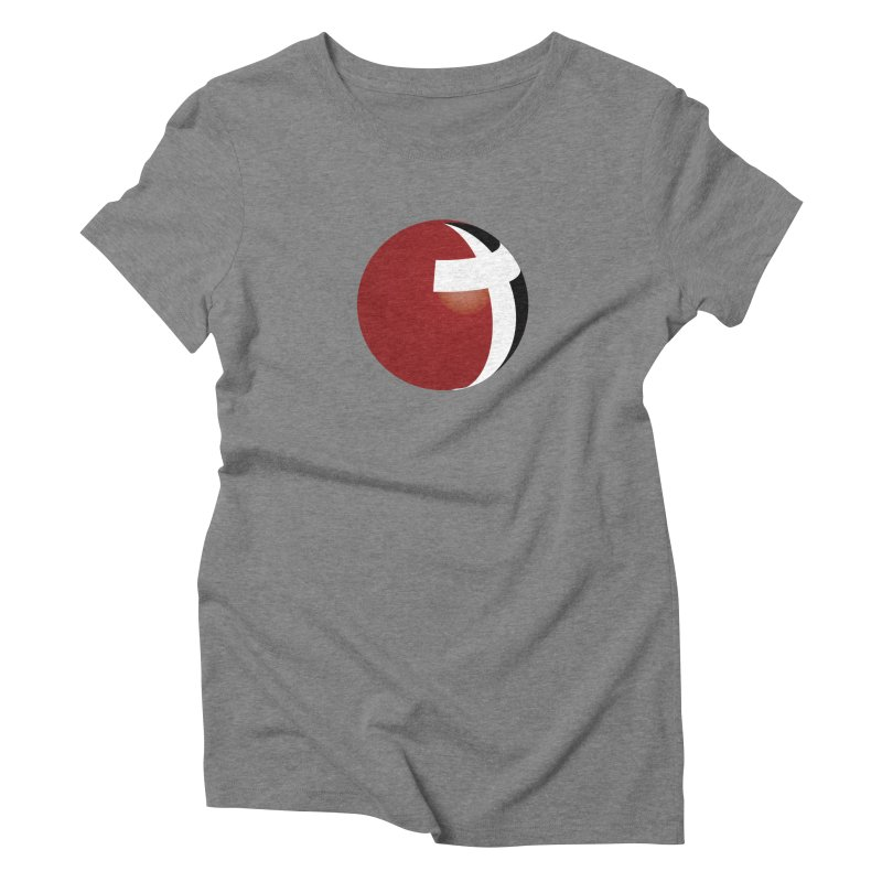 Graphic Only Collection Women's Triblend T-shirt by LCMC Store
