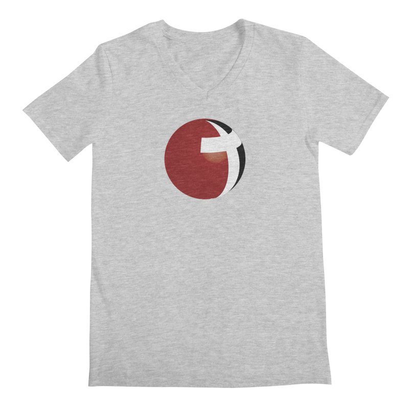 Graphic Only Collection Men's Regular V-Neck by LCMC Store