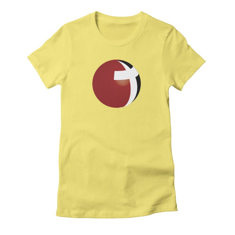Graphic Only Collection Women's Fitted T-Shirt by LCMC Store
