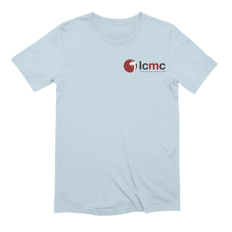 Small Logo Collection (Light Colors) Men's Extra Soft T-Shirt by LCMC Store