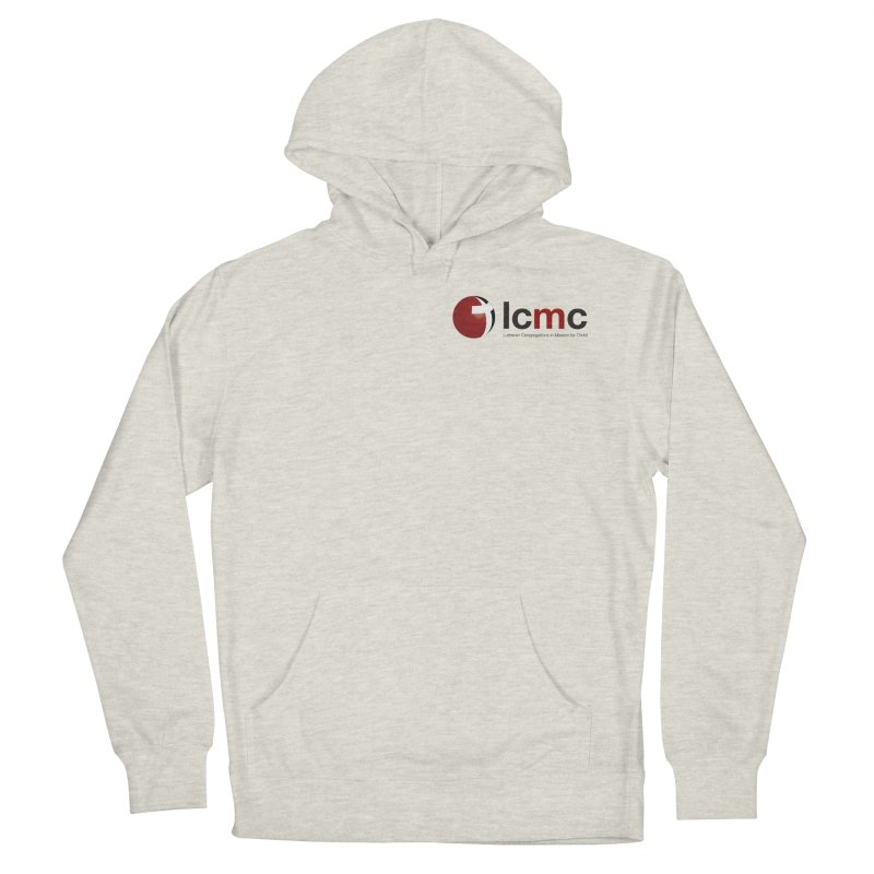 Small Logo Collection (Light Colors) Women's French Terry Pullover Hoody by LCMC Store