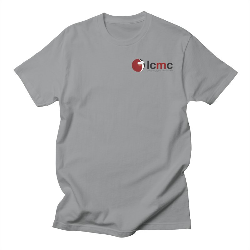 Small Logo Collection (Light Colors) Men's Regular T-Shirt by LCMC Store
