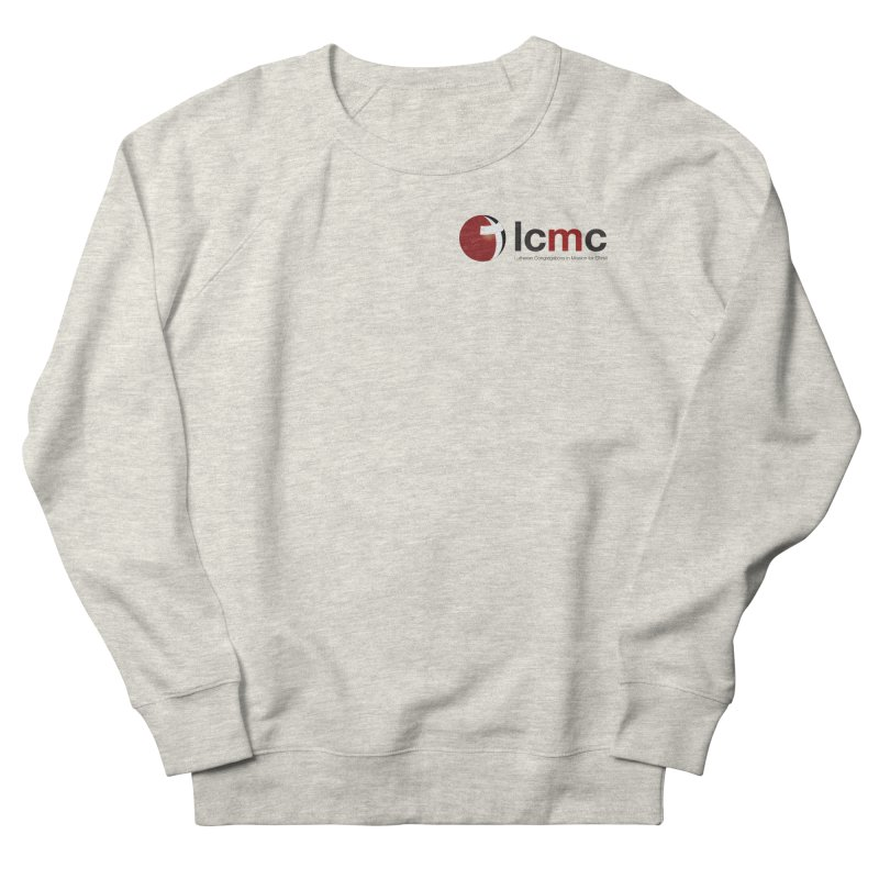 Small Logo Collection (Light Colors) Women's French Terry Sweatshirt by LCMC Store
