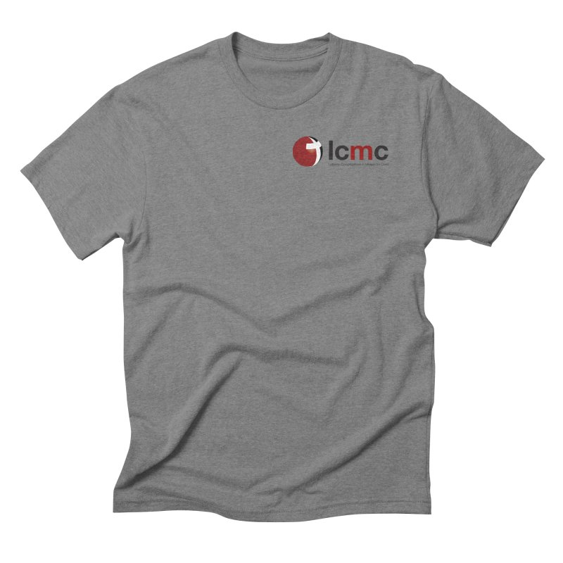 Small Logo Collection (Light Colors) Men's Triblend T-Shirt by LCMC Store