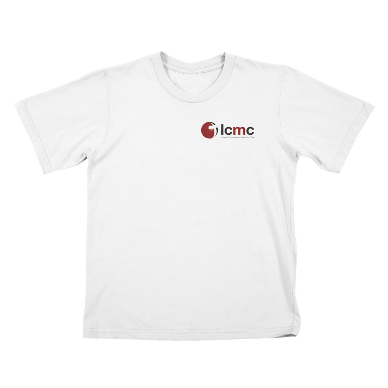 Small Logo Collection (Light Colors) Kids T-shirt by LCMC Store