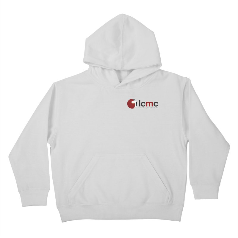 Small Logo Collection (Light Colors) Kids Pullover Hoody by LCMC Store
