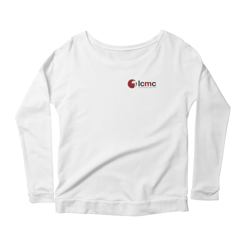 Small Logo Collection (Light Colors) Women's Longsleeve Scoopneck  by LCMC Store