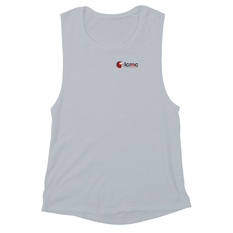 Small Logo Collection (Light Colors) Women's Muscle Tank by LCMC Store
